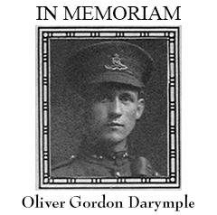 Oliver Gordon Darymple - Torontonensis, 1917