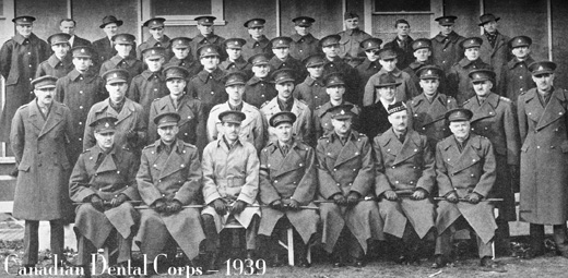 Canadian Dental Corps - 1939