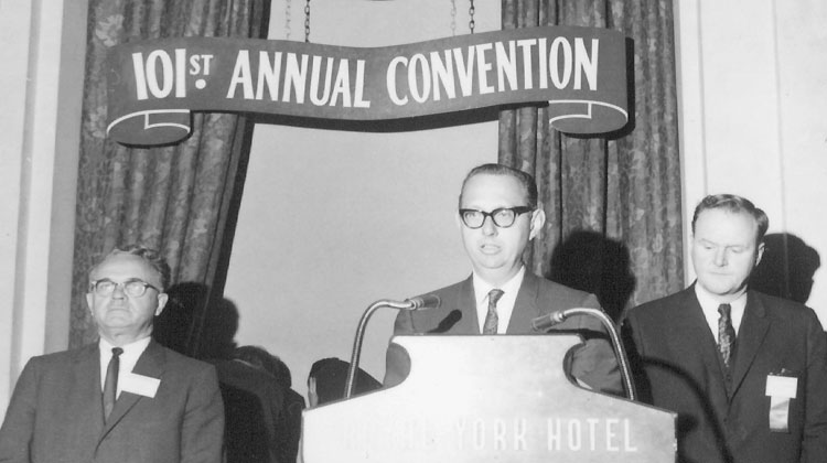 Annual Spring Meeting – 1968