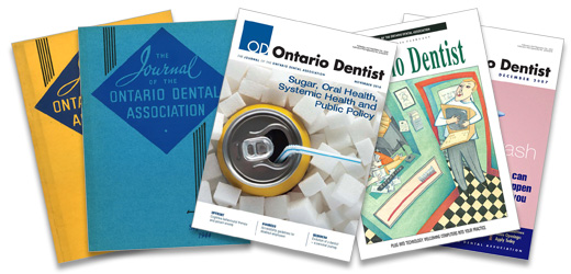 Journal of the Ontario Dental Association - Courtesy of the Archives of the Ontario Dental Association