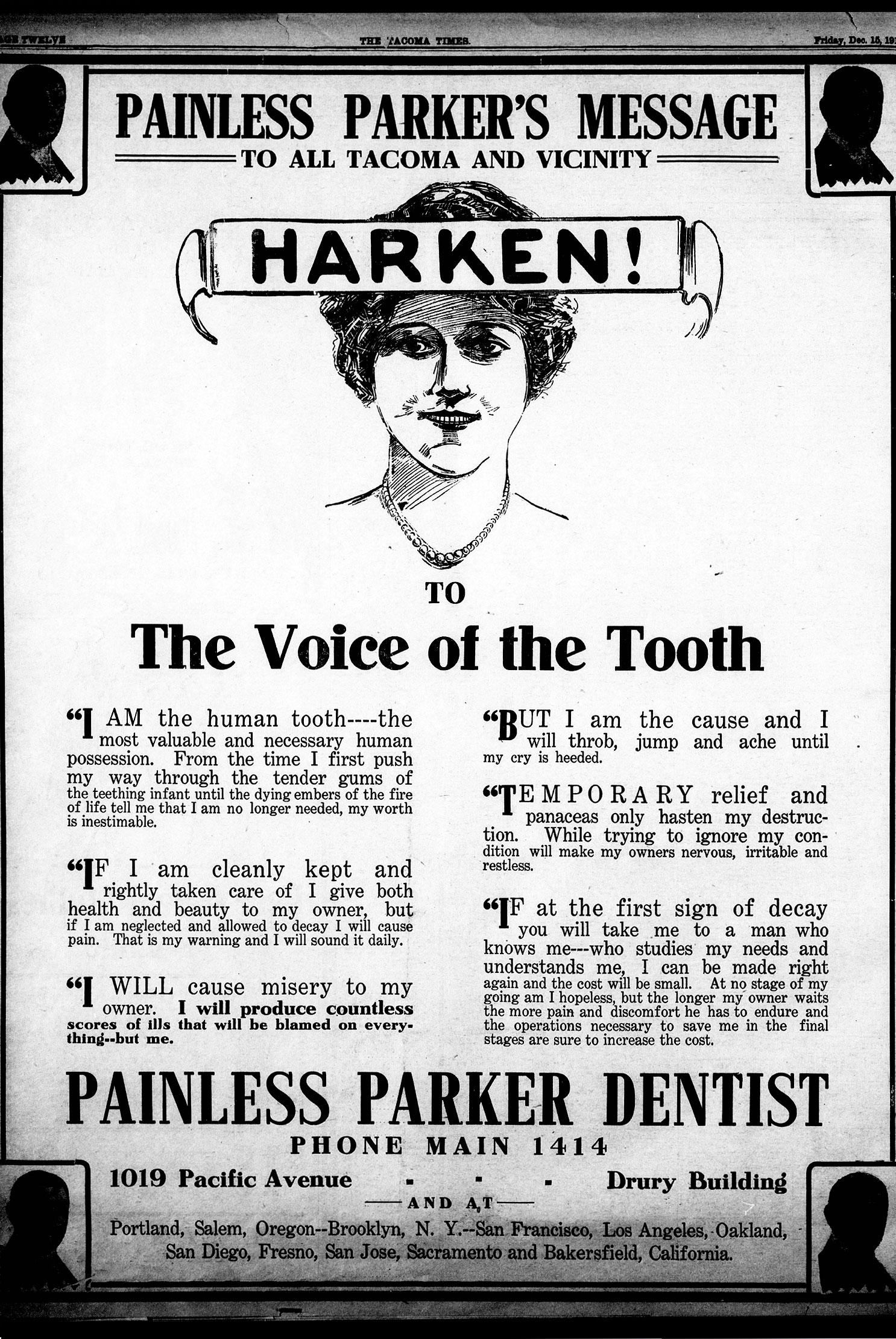 Voice of the Tooth Document