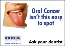 2005 Oral Health Month Campaign - Courtesy of the Archives of the Ontario Dental Association
